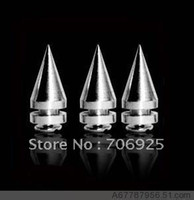 Wholesale cm bullet spike leather clothing spike hat bag rivets Diy accessories pieces