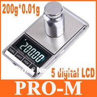 Wholesale 200gx0 g g g g g Mini Digital Jewelry Pocket Scale DHL freeshipping