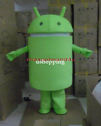 Wholesale Professional New Android Robot Mascot Costume Facny Dress Adult Size