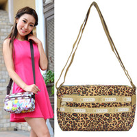 Wholesale F9006 cotton prints bag nylon waterproof shoulder bag messenger bag casual bag zipper women s handbag