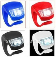 Wholesale Lowest Price RA LED Light Bicycle Lamp Silicone Waterproof Safety Rear light Bike Light