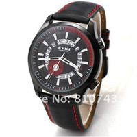 Wholesale!EYKI Men's Sports Leather Wrist Watch Calendar Wat...