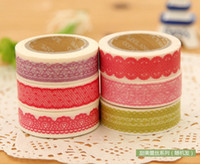 Wholesale funlife cm x meter mix DIY decorative adhensive Masking Tape for Diary amp Photo christmas