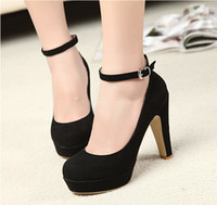 Wholesale 2013 new Women s high heels sexy fashion black high heels evening gown shoes