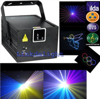 Wholesale 2014 Cheap mW W RGB Animation Beam ILDA K DJ Stage Effect Laser stage Light Party Disco Club Bar