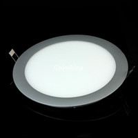 Wholesale 14W LM Very Thin LED Ceiling Panel Spot Light White Warm White MB0005 MB0006
