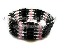 Bohemian magnetic hematite jewelry - Rainso Magnetic Hematite Bracelet Hematite Jewelry OHL A