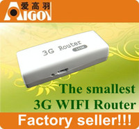 Wholesale 3G Router WIFI Hotspot Mini AP Portable Wireless Router Mbps Support almost all G Modem