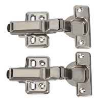 Iron hinges - 1 MM Hydraulic Hinges Detachable Stainless Steel New Ship From USA