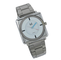 Wholesale ESS Mens Classic Square White Dial Stainless Steel Band Watch WM176
