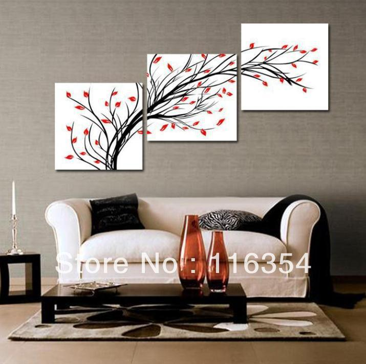 perfect home decor paintings on gold background wall art
