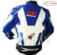 Wholesale motorcycle Jackets racing jacket motorcycle jacket white black blue whitewaterproof
