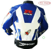 Wholesale motorcycle Jackets racing jacket motorcycle jacket white black blue whitewaterproof