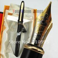Wholesale PICASSO black M nib fountain pen dove of peace