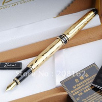 Wholesale Gold Paris style Financial Pen Fountain Pens Picasso Series