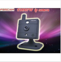 Wholesale Genuine Foscam FI8907W Video Baby Monitor webcam Wireless N IP Camera Black Auto IR LED illuminat