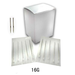 Wholesale 100 X Sterile Tattoo Body Piercing Needles SZ G
