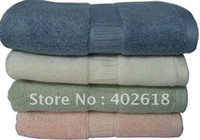 Wholesale x70cm Size Bath towel Bamboo towel bamboo fiber gsm weight Eco friendly