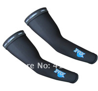 Wholesale For Cycling Sport Protection Coolmax Arm Sleeve Warmer Fo X Black L