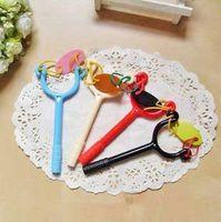 Wholesale promotional novelty Slingshot ballpoint pens cheap pens love Toy pens