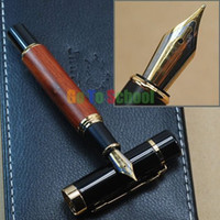 Calligraphy & Fountain Pens Fountain Pen Shanghai China (Mainland) JINHAO 650 NATURAL ROSEWOOD FOUNTAIN PEN 18KGP BROAD NIB WITHOUT ORIGINAL BOX