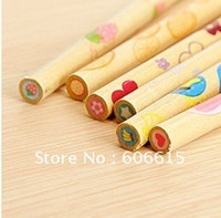 Wholesale wholsale g Cartoon eraser novelty pencil eraser Rubber wood fruit eraser Bo
