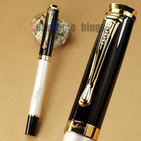 Wholesale JINHAO Executive White and Golden M Nib Fountain Pen
