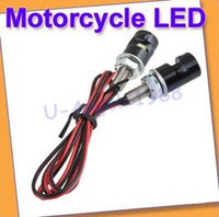 Wholesale Register x Universal White LED Motorcycle Car License Plate Bolt Light Bulb Lamp