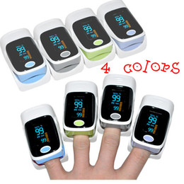 Wholesale CE FDA Finger OLED COLOR DISPLAY Pulse Oximeter Spo2 Fingertip Oxygen Monitor SPO2 PR