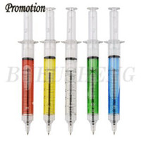Wholesale syringe Pen Ballpoint pen Promotional pen Injection pen novelty best sell fast d