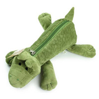 Wholesale original design NICI animal series crocodile pencil case pen bag pencil case kids gif