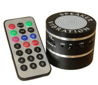 Wholesale 10W Resonace Vibration Speaker Bluetton TF read FM Remote Control