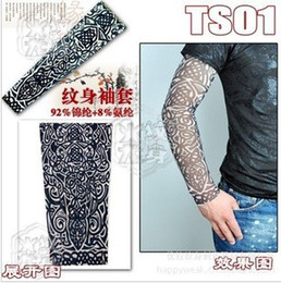 Wholesale 100pcs styles Novelty tattoo Most fashion and novelty body arm stockings body tattoo sleeve