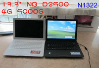 Wholesale 13 inch laptop with Win OS system Intel Atom D2500 notebook GHz GB GB DDR GB GB G