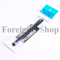 Wholesale 500 Stylus Pen Capacitive Screen touch For Apple iphone gs s S iPad mini Air