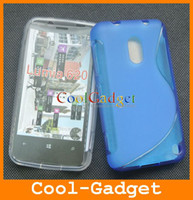 Wholesale S LINE TPU Silicone Gel CASE COVER Protector for Nokia Lumia wholesales NK620C01