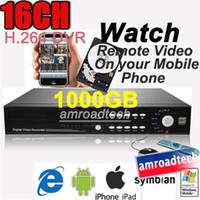 Wholesale 1set CH H CCTV Standalone DVR GB HDD Surveillance Digital Video Recorder AT DVR8516H TD