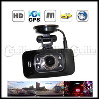Wholesale Car dvr GS8000 inch LCD Screen Degree Full HD P Car DVR Camera with GPS G Sensor