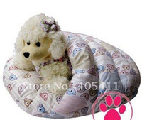 Wholesale 100 PP cotton Pet Beds soft warm dog sofa Pet Nest luxury Dog Sleeping bags warm round beds free s