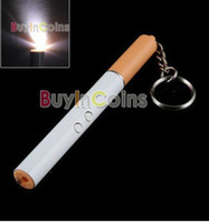 Wholesale 50pcs multi fuction Laser LED flashlight keychain ball pen torch cigarette promotion