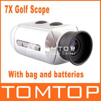 Wholesale Digital Pocket X Golf Range Finder Golf Scope Rangefinder Pocket size With Bag H120