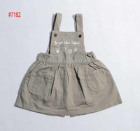 Niña de liga falda de vestir de las Niñas jean Faldas de las Niñas de bebé suspender las faldas de los Niños faldas de niños