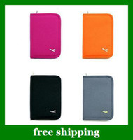 Wholesale sample order Multi purpose travel bag Passport Holder passport case Credit Cash Wallet Women gifts
