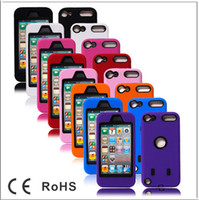 PC+ Silicone Hybrid Rugged Impact robot Cover Case for Apple ...