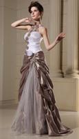 Wholesale The Newest Evening Dresses Applique bead Taffeta Fold Quinceanera Dresses