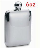 Wholesale Free EMS DHL Sets oz OZ Stainless Steel Mirror Liquor Hip Flask Funnel Wine Pot Flagon Nice Box Christmas Gift