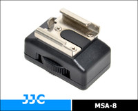 Wholesale JJC MSA Adapter for quot threaded socket to female hotshoe