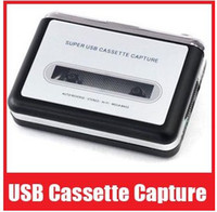 Wholesale USB Cassette Capture Recorder Radio Player Tape to PC Super Portable USB Cassette to MP3 Converter