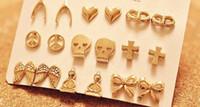 Cheap Women's Earrings stud earrings Best Silver Plate/Fill Stud Fashion earrings