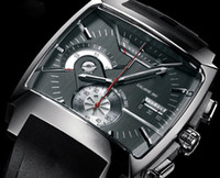 Fashion Men's Mechanical Automatic Luxury mens Quartz watches black dial rubber watch TA07